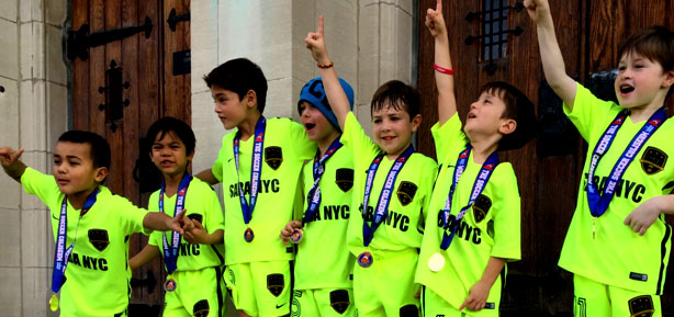 A GLIMPSE INTO THE FUTURE In their brief time together, The U7 Celtic Boys are showing great promise. The main focus is encouraging risks and the boys are displaying a desire to showcase their 1v1 abilities. Read more >